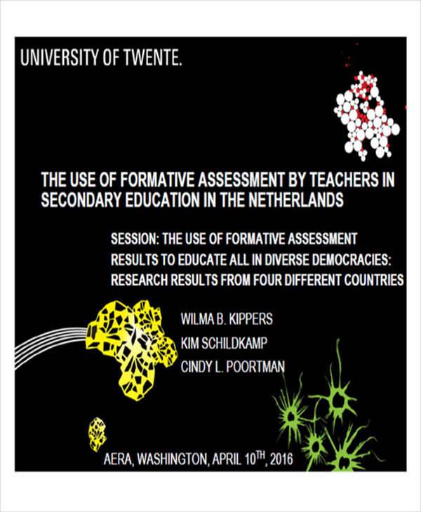 teacher formative