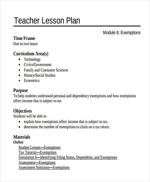 teacher lesson plan4
