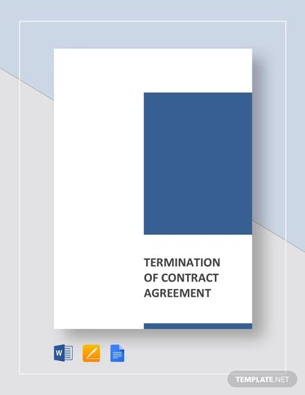 termination contract agreement