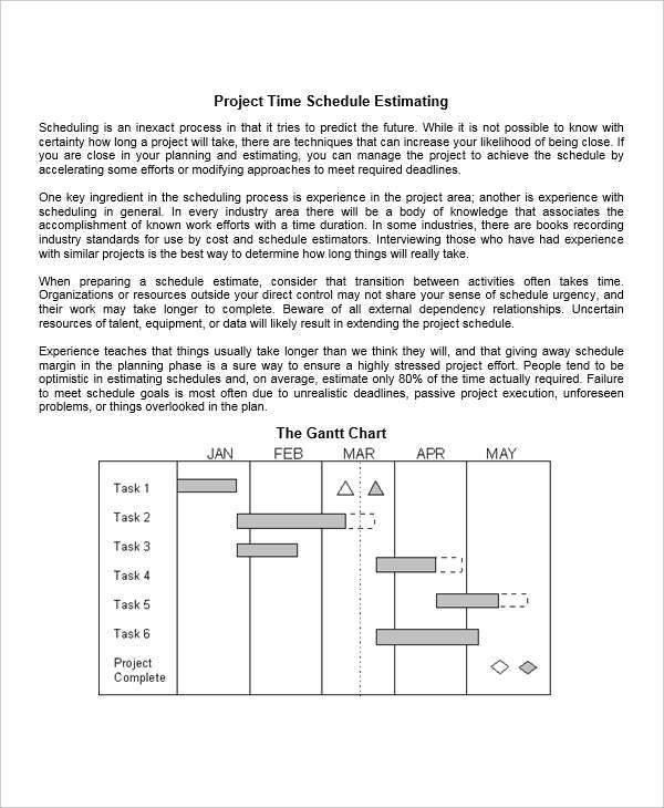 time schedule gantt chart1