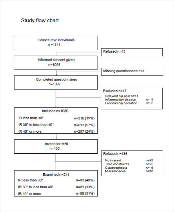 time study flow chart2