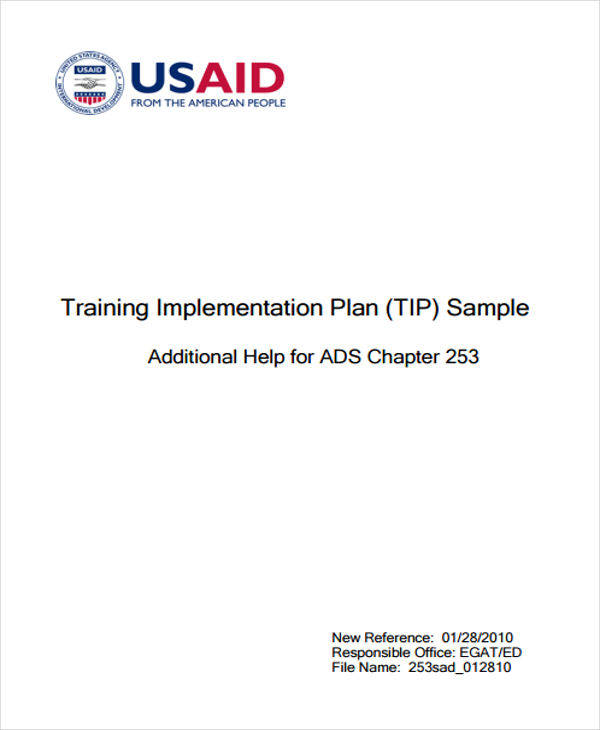8+ Implementation Plan Templates - Free Sample, Example, Format