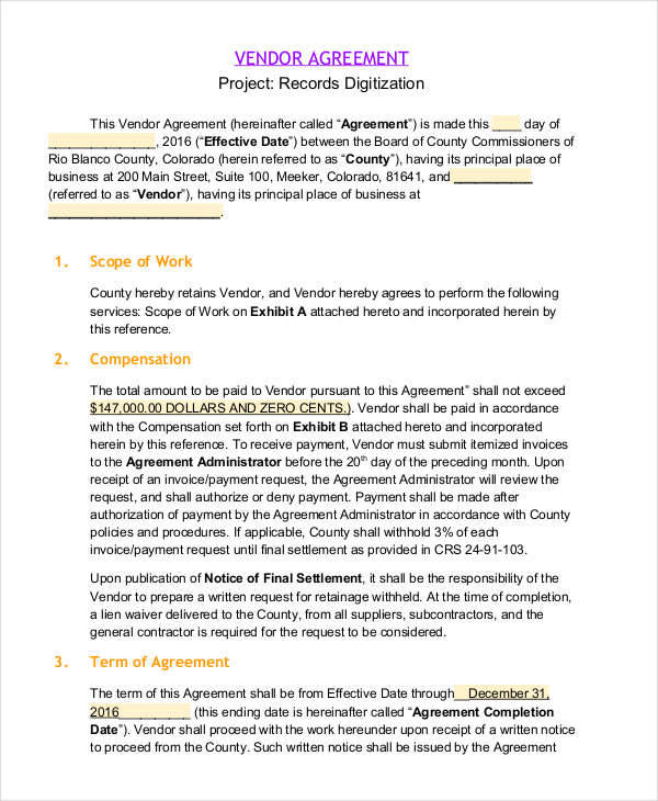 5 project contract samples templates pdf doc for Fixed price construction contract template