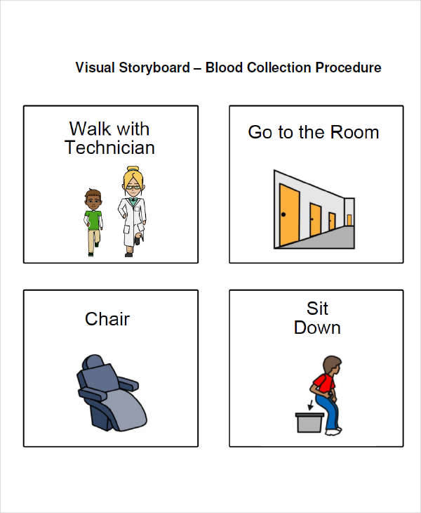 6 Visual Storyboard Sample – Free Sample, Example, Format Download