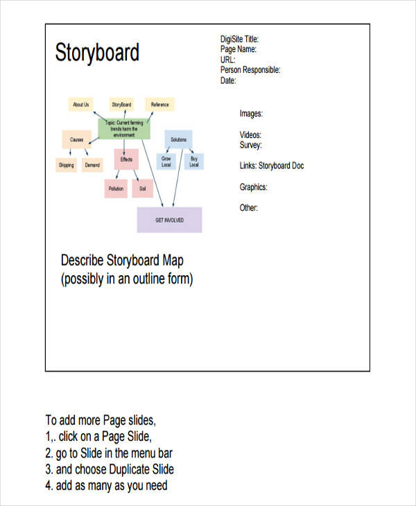 Website Storyboard Examples: 36 Sample Professional Storyboard Templates