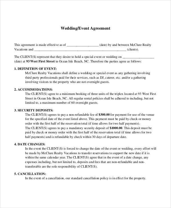 50 Basic Contract Templates Dj Contract. Dj Contract Template ...