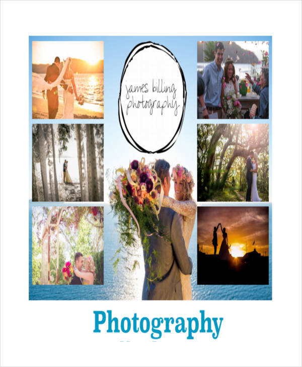 Amazing Wedding Photography Storyboard Sample