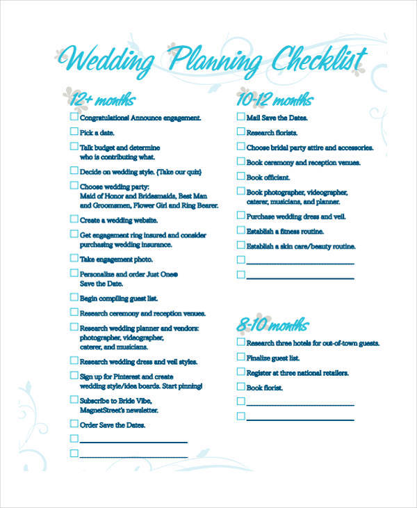 wedding plan checklist1