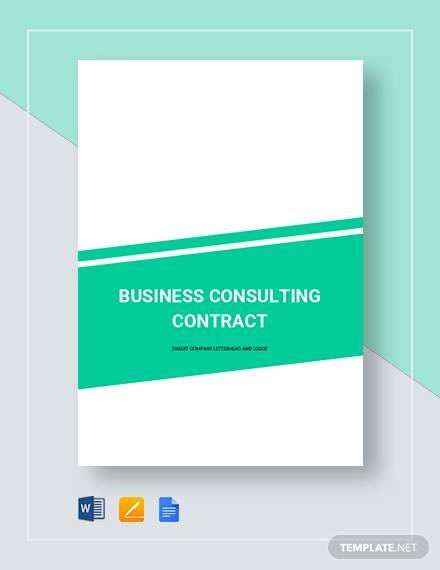 business consulting contract4