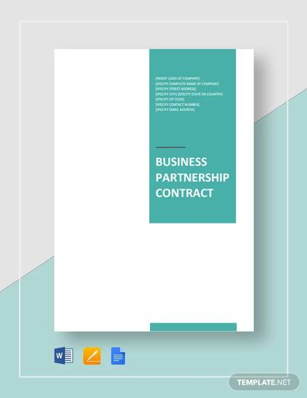business partnership contract4