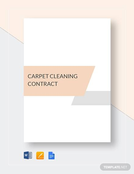carpet cleaning contract1