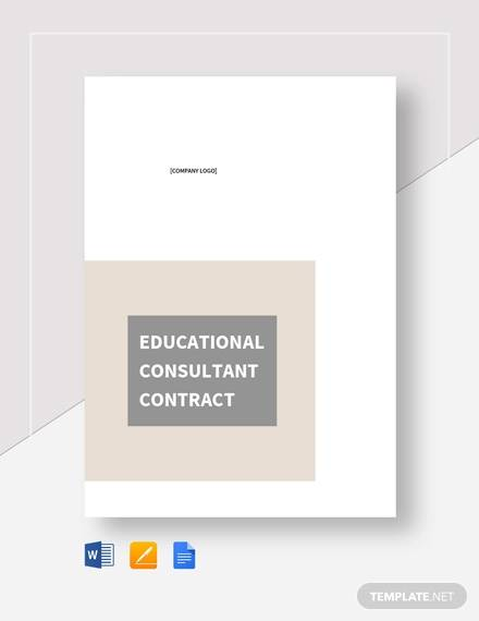 educational contract