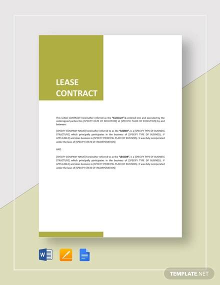 lease contract1