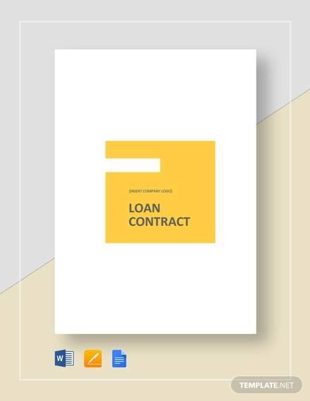 loan contract