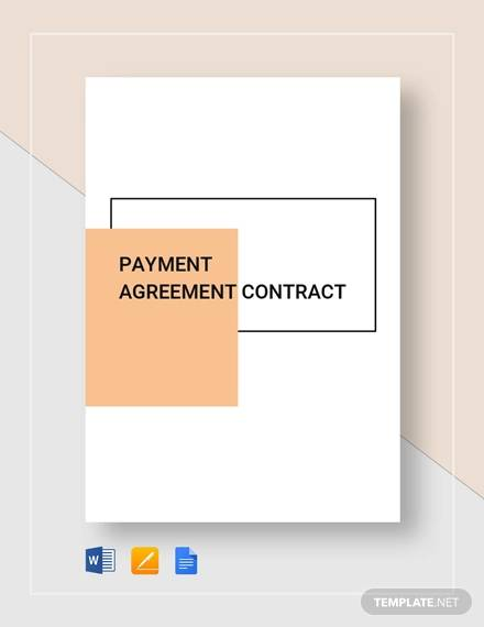 payment agreement contract2