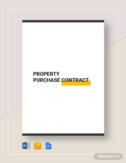 property purchase contract2