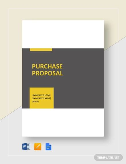 purchase proposal