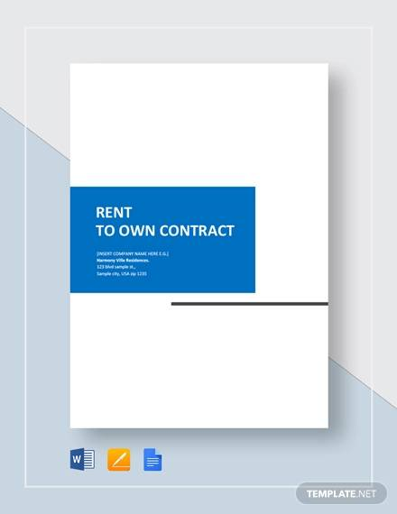 ren to own contract