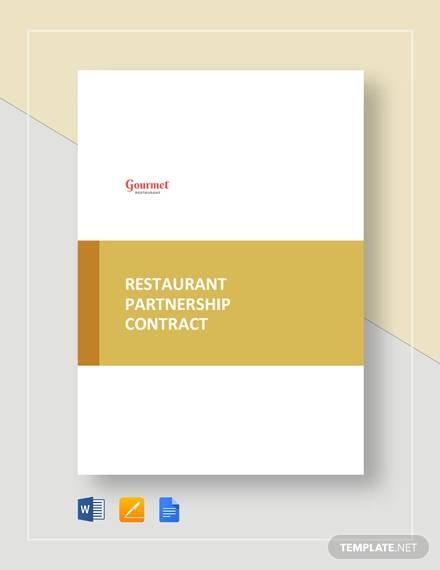 restaurant partnership