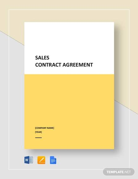 sales contract agreement1