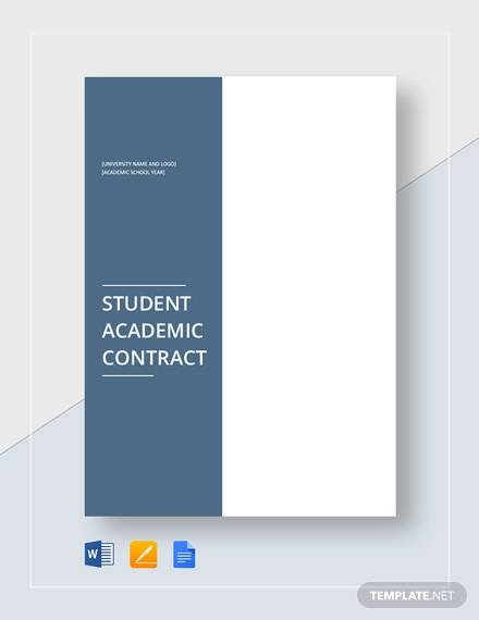 student academic contract1