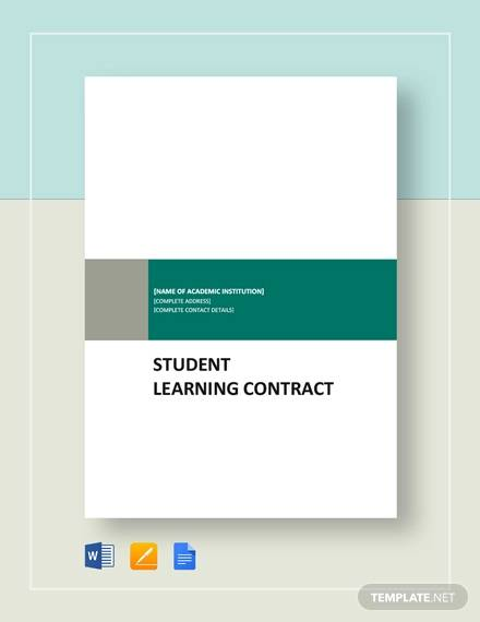 student learning contract2