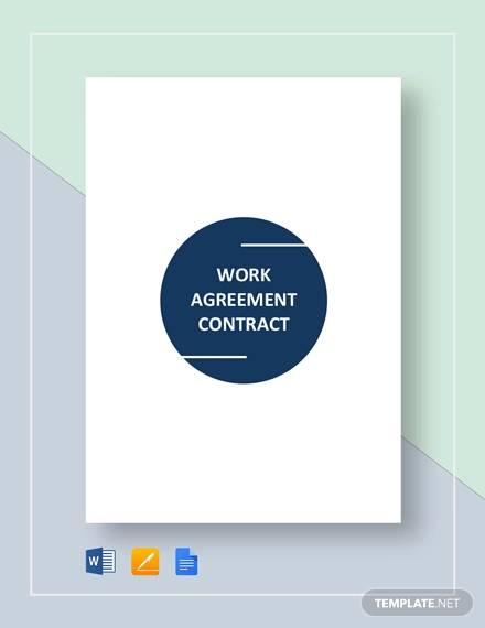 work agreement contract1