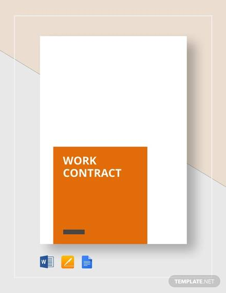 work contract1
