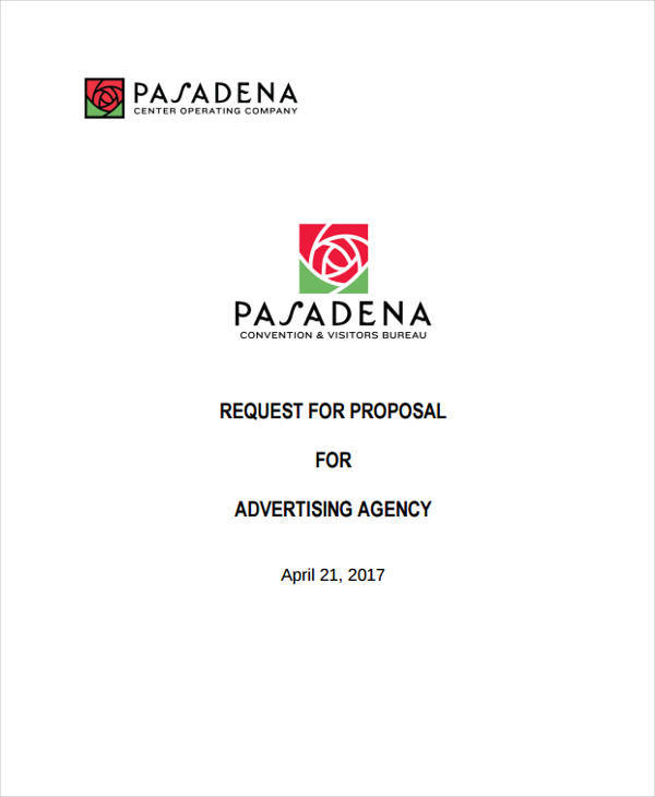 9 Advertising Proposal Templates - Free Sample, Example, Format