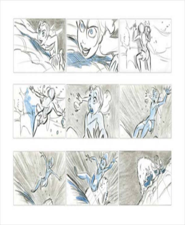 Anime Storyboard  Free Sample Example Format Download