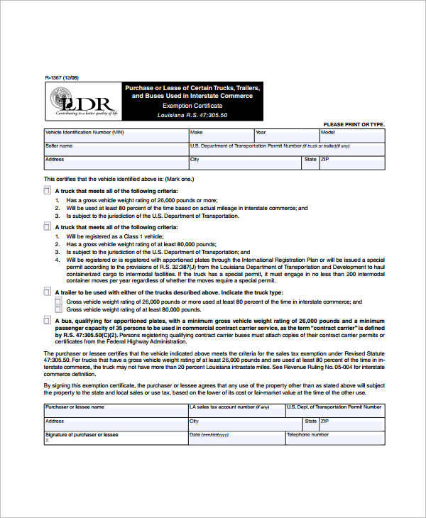Printable Lease Agreements