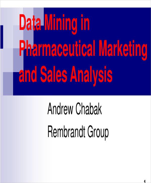 analysis of marketing sales template