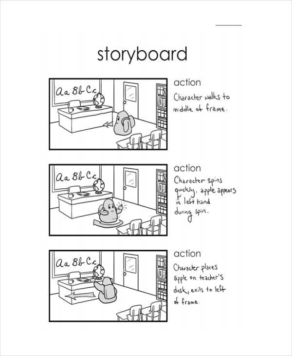 anime studio storyboard
