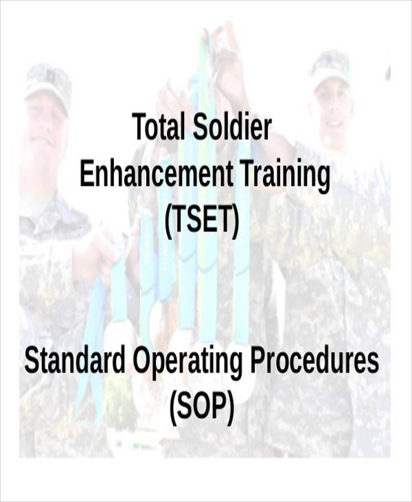 army training sop