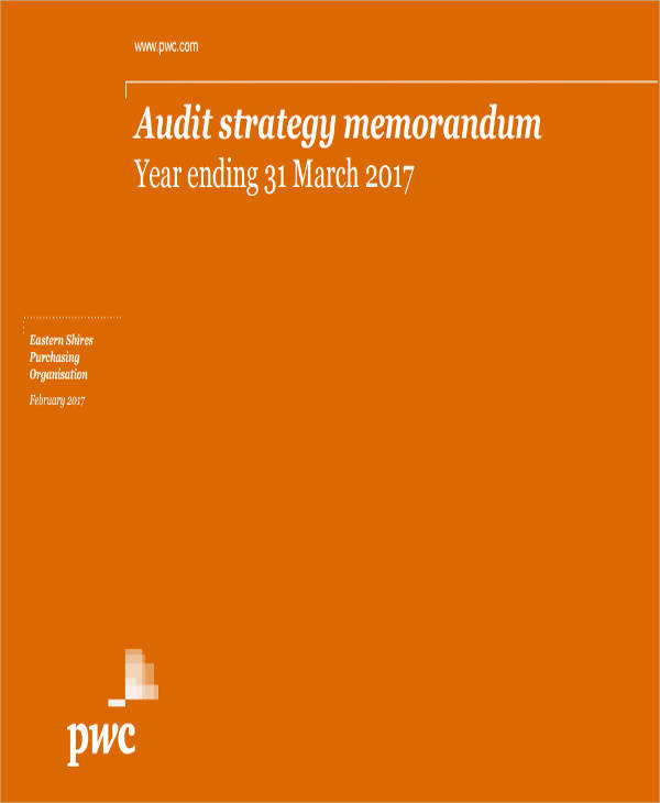 Audit Memos  Internal Audit Procedure  Audit Planning Memo