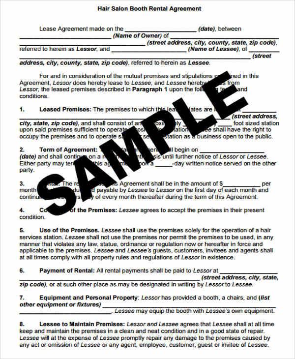 41 lease agreement formats templates pdf doc barber shop lease agreement platinumwayz