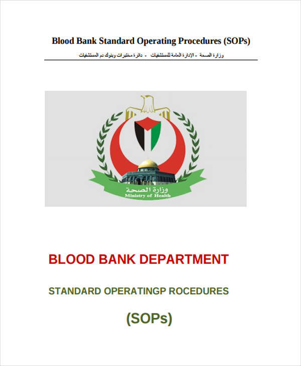 blood bank sop
