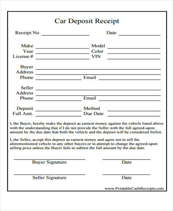 car down payment slip1