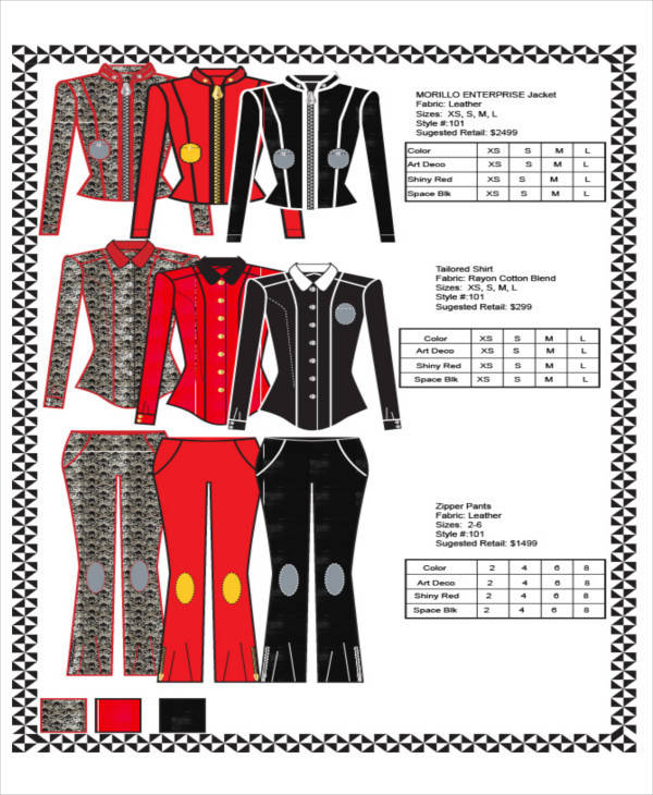 clothing line sheet1