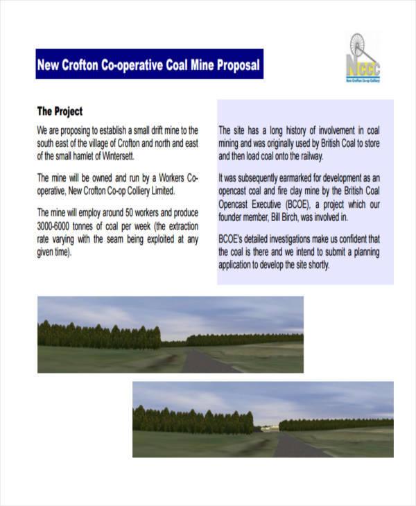 coal mining project