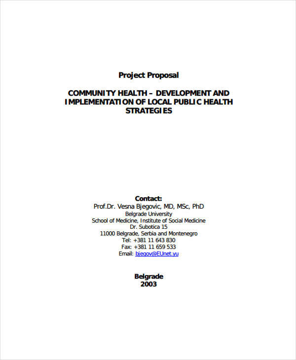 community development project