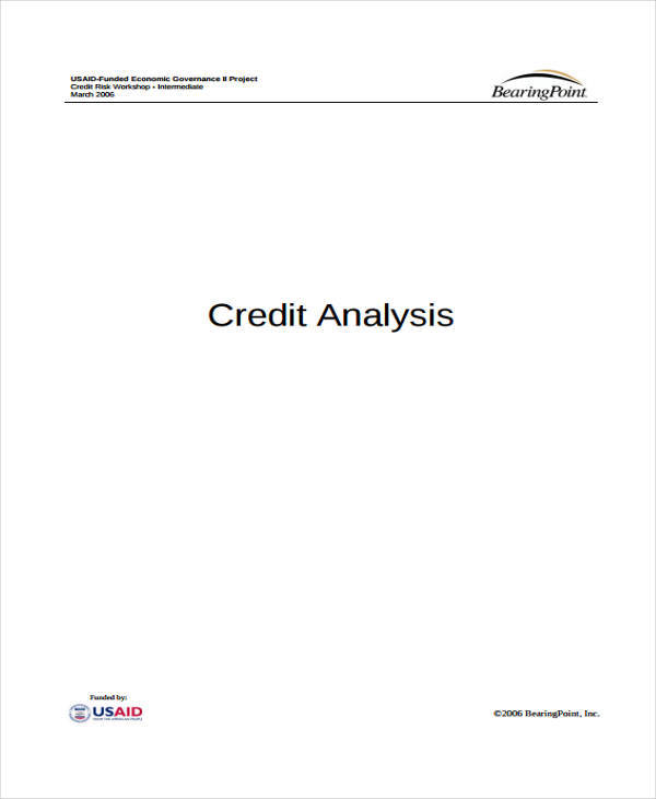 company credit analysis1