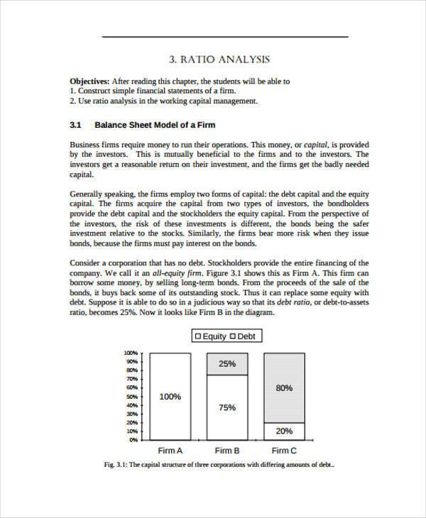 company ratio analysis1
