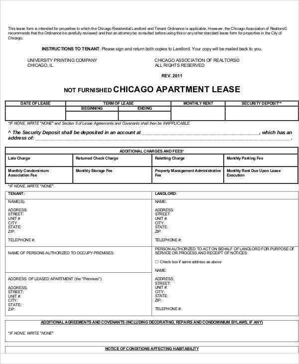 37 Lease Agreements In PDF