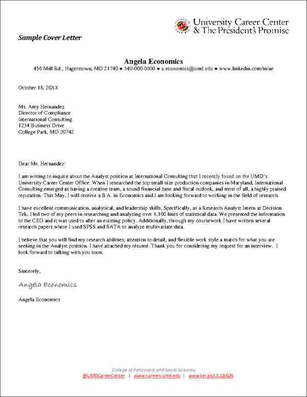 Cover Letter Examples U0026 Writing Tips