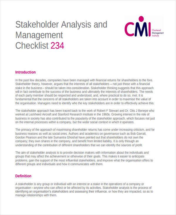 customer stakeholder analysis1