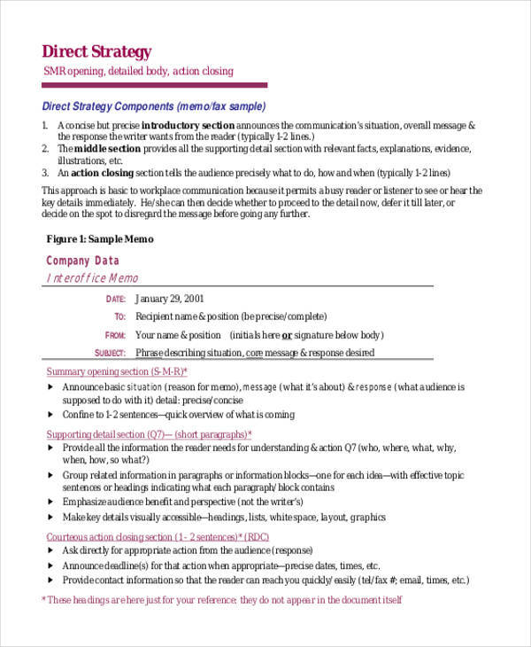 strategy memo Strategy memo strategy memo june 12th, 2013 t0:mr xyz from:abc subject:recommendations for the future fusion centers background homeland security can be organized into 3 categories.