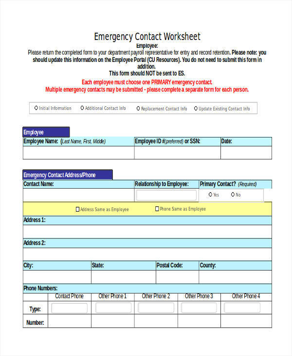 emergency contact list2