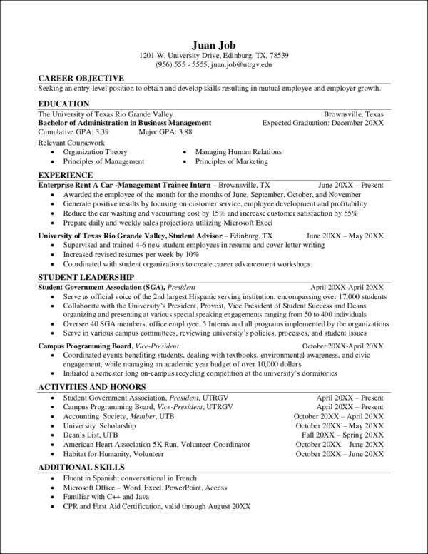 entry level resume templates 42 images entry level