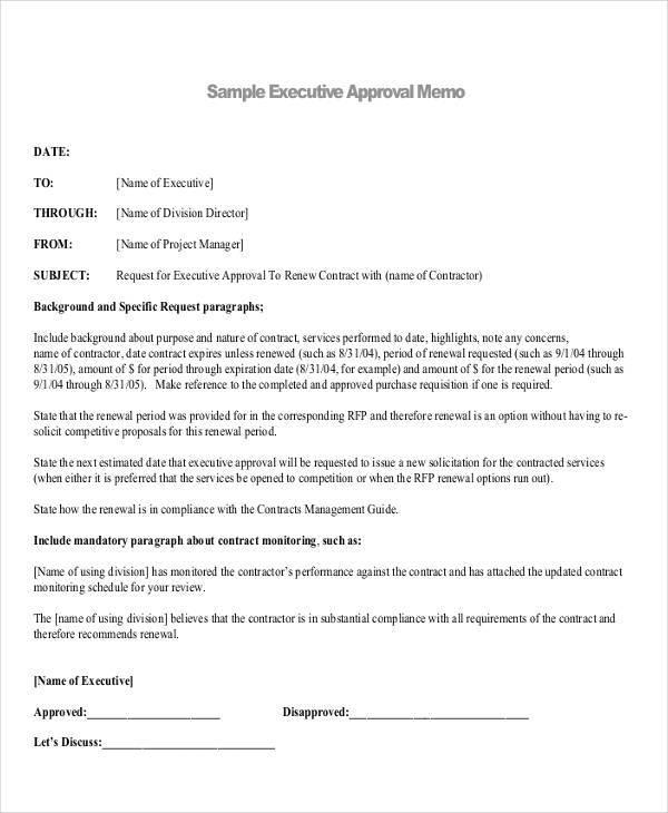 executive approval memo1